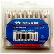 Mũi siết KingTony 136502P 2 x 65mm ( 1 vỉ 10c)